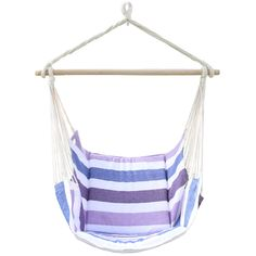 Take a nice little nap on this very comfortable and affordable hammock. You'll be lounging in style and you will get the rest and relaxation that you are looking for.