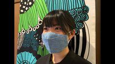 西村大臣風マスクの作り方 型紙なし簡単立体マスク - YouTube Totoro, Couture, Sewing Crafts, Diy And Crafts, Hats, How To Make, Handmade, Purse Holder, How To Make Crafts