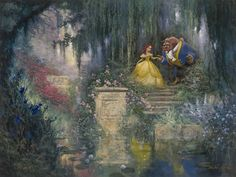 Beauty and The Beast- how do i get this garden?? love!
