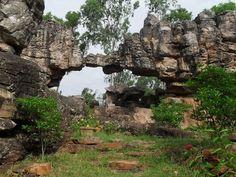 The Natural Stone Arch in Tirumala