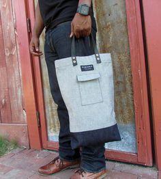 Jesse Denim Utility Bag by the Good Union on Scoutmob