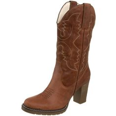 Roper Women's Rockstar Fashion Western Boot ❤ liked on Polyvore