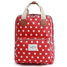 f4296b0d2d Polka Dots Backpack for Women School Bag Colatree 211