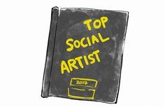 FanArt - BTS vence na categoria Top Social Artist do BBMAs por @YourHobi no Twitter