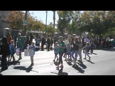 veeterans day parade girls scouts