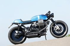 The Real Deal: Radical Guzzi's 130-horsepower cafe racer