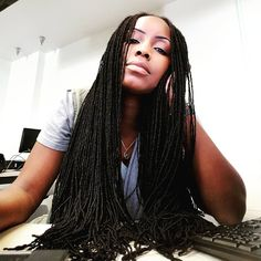 """200 Likes, 22 Comments - @double_wami on Instagram: """"Work. Boredom. Hair; a distraction."""""""