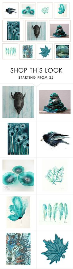 """Teal Decor"" by keepsakedesignbycmm ❤ liked on Polyvore featuring interior, interiors, interior design, home, home decor, interior decorating, art, accessories, interiordesign and homedecor"