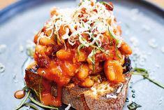 Kijk wat een lekker recept ik heb gevonden op Allerhande! Jamie Oliver's bonen op toast