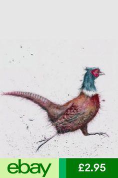 Wrendale Designs Country Set Greeting Card NEW Pheasant Game Bird Web Design, Bird Design, Street Art, Wrendale Designs, Bird Artwork, Game Birds, Bird Cards, Pheasant, Illustrations