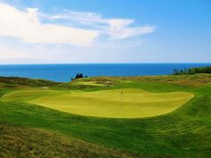 Arcadia Bluffs - if only I golfed!
