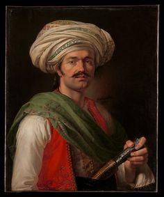 Portrait of a Mameluke, said to be Roustam Raza (ca. 1781–1845)