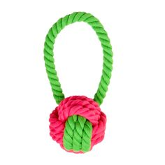 Looooove! Have a Ball Rope Dog Toy