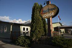 Red Tree Lodge Signage.  Photo Credit: Nick Nault.