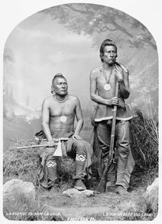 Night Chief, Man That Left His Enemy Lying In The Water - Pawnee – 1868