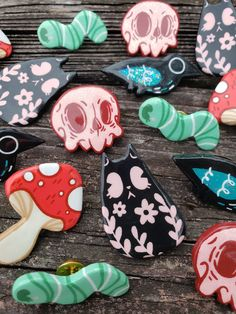 Cute Polymer Clay, Polymer Clay Charms, Diy Clay, Clay Crafts, Diy And Crafts, Arts And Crafts, Cute Clay, Color Limon, Cute Charms