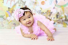 Pink Headband, Baby Pink Headband, Baby Gift, Baby Headband, Baby Headbands, Flower Headband, Pink Flower Headband, Granddaughter Gift, Gift