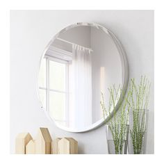 IKEA RONGLAN mirror Provided with safety film - reduces damage if glass is broken.