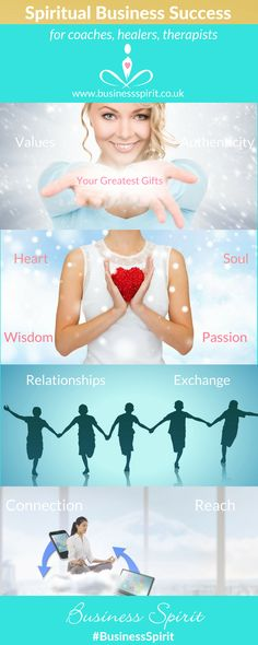 The heart elements of spiritual business success. Coaches, healers therapists how to create a successful #spiritualbusiness #spiritualbiz #heartbasedbusiness
