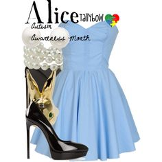 by tallybow  http://www.polyvore.com/alice_autism_awareness_month/set?id=117731135