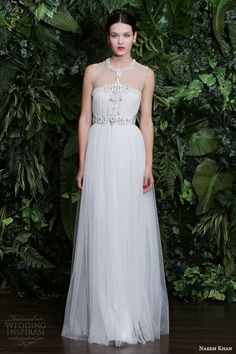 Wedding Dress by Naeem Khan - Fall 2014