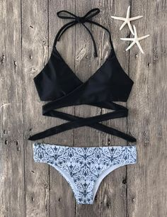 $26.99 This fashion printing swimwear will be the best fitting you have ever worn! Sexy Fashion Floral Print Bikini Set