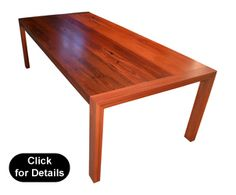 """Swan View""8-10 Seat Jarrah Dining Table"
