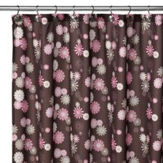 Watershed® Single Solution™ 2-in-1 Starburst Fabric Shower Curtain - BedBathandBeyond.com