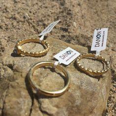 Jewelry, rings, gold, danon, handmade