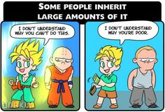 6 Ways Having Money Is Just Like Power Levels In Dragon Ball Z - Neatorama