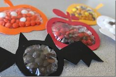Halloween & fall candy pouches
