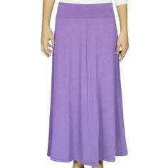 Kosher Casual Chalk Violet Maxi Skirt ($45) ❤ liked on Polyvore featuring skirts, purple, maxi skirt, violet skirt, long skirts, rayon maxi skirt and ankle length skirt