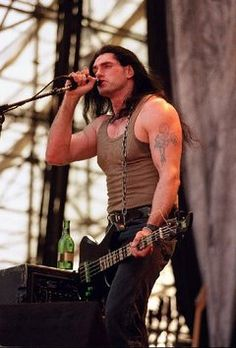 Peter Steele of Type O Negative RIP, you six foot seven gorgeous man