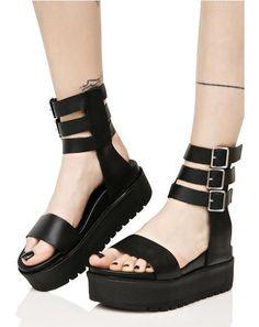 6b4aead4a86 Shellys London Kegan Platform Sandals yer a Demon to some
