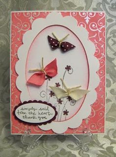 Stamp-n-Design: Ribbon Butterflies