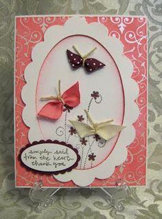 Stamp-n-Design: Ribbon Butterflies