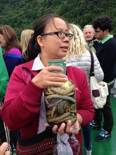 China: Oriental Medicine Tour September 2013 - Snake wine famous in the region