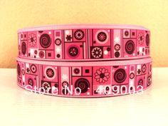 10Y7380 kerry ribbon free shipping 7/8 '' printed ribbon Grosgrain ribbon