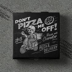 Don't Pizza Me Off on Packaging of the World - Creative Package Design Gallery