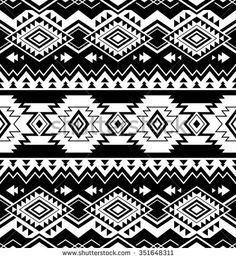 Tribal print pattern, tribal patterns, tribal prints, monogram wall art, na Tribal Pattern Wallpaper, Tribal Print Pattern, Tribal Prints, Print Patterns, Navajo, Aztec Tribal Tattoos, Aztec Art, Mexican Pattern, Monogram Wall Art