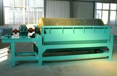 CTB wet drum magnetic separator for iron sand , wet iron sand benefication plant