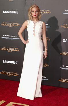 Jennifer Lawrence -  premiere Jogos Vorazes - A Esperança - O Final, em LA