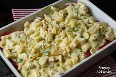 Przepisy Aleksandry: PROSTA ZAPIEKANKA ZIEMNIACZANA Pasta Salad, Macaroni And Cheese, Ethnic Recipes, Food, Crab Pasta Salad, Mac And Cheese, Meals, Noodle Salads, Yemek