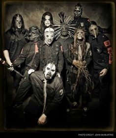 Slipknot. Do YOU know the real reason they wear the masks???