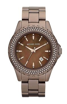 Michael Kors 'Madison' Round Bracelet Watch available at #Nordstrom