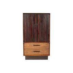 This rosewood, 1960s armoire kills it.