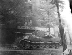 King Tiger of Schwere SS-Panzer-Abteilung 503. Pariser Strasse Berlin April 1945