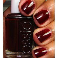 Essie clutch me if you can. Great Fall color.