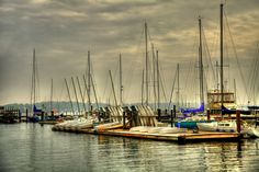 Newport, Rhode Island boats in the harbor. Photo by @Joey Lax-Salinas