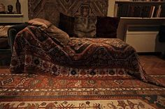 Sigmund Freud's couch © Anne Leibovitz